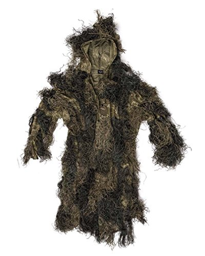 Mil-Tec Ghillie Parka Anti Fire Basic Woodland Gr. XL/XXL