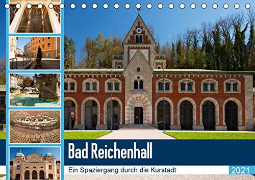 Bad Reichenhall (Tischkalender 2021 DIN A5 quer)