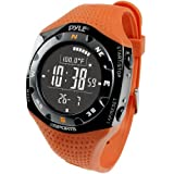 Pyle Sports Ski Master V Professional Ski Watch, Orange