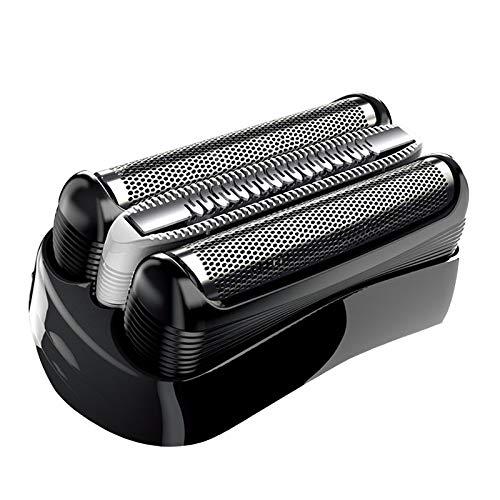 32B Cabezales de Afeitado Poweka Compatible con Bra-un Series 3 Cassette Afeitadora Eléctrica Hombre