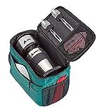 AdirChef Grab N Go Bolsa de viaje – Multicompartimento para uso multialmacenamiento, perfectamente diseñado para cafeteras AdirChef personales para viajar, al aire libre, sobre la marcha y acampar
