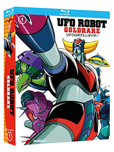Ufo Robot Goldrake, Vol. 1 (4 Blu Ray)