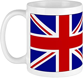 Union Jack Mug Cup Ceramic Tea Coffee UK Flag Royal Souvenir Gift Slim Lippy
