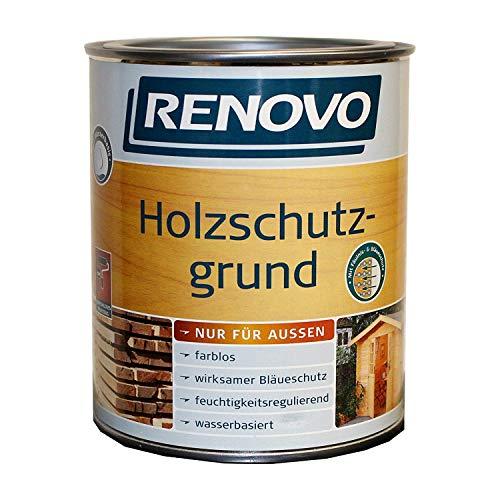 2,5 Liter RENOVO Holzschutzgrund Farblos für außen, wasserbasiert,