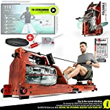 Sportstech WRX700 Water Rowing Machine For Home