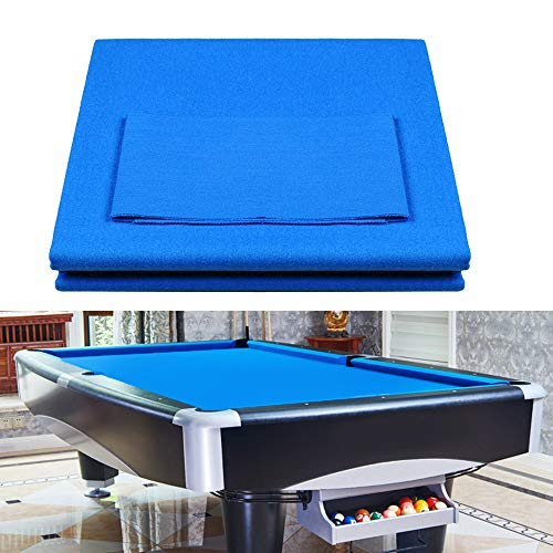 Boshen Worsted Blend Billiard Cloth Pool Table Felt Fast Speed for 7' 8' 9' Pool Table Pre Cut Bed & Rails