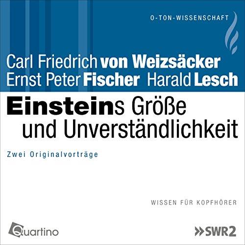 Einsteins Größe und Unverständlichkeit audiobook cover art
