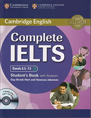 Complete IELTS Bands 6.5-7.5 : Student's Book with Answers (2 ACDs + 1 CD Rom)