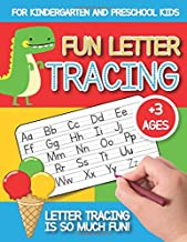 Fun Letter Tracing: For Kindergarten and Preschool Kids | Uppercase and Lowercase