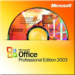 Microsoft Office Professional Edition 2003 for System Builders, Win32