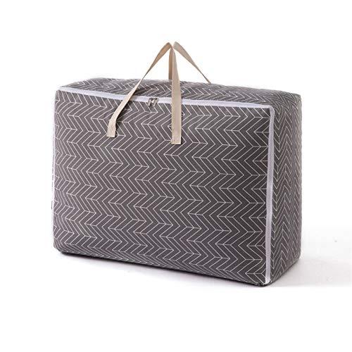 HOMEsn 3 Packs Grandes Bolsas De Almacenamiento para Edredones, Mantas, Ropa, Edredones Y Toallas, Bajo La Bolsa De Organizador De Cama para Armarios, Dormitorios (Color : B)