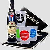 Smartbox - Caja Regalo - Ron Legendario en casa: Botella de Elixir de Cuba, cubitera y 4 Vasos - Ideas Regalos Originales