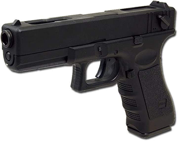 Glock softair pistola elettrica g18c softair (0.5 joule) vendibile 16+ anni cyma B01LH7UJ3W