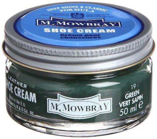 [エム・モゥブレィ] シューケア 靴磨き 栄養 保革 補色 ツヤ出しクリーム シュークリームジャー グリーン 50ml