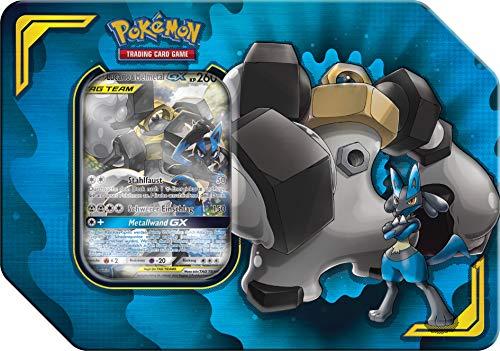 Unbekannt Pokemon - Power Partner TIN - Lucario & Melmetal GX - Deutsch