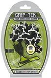 grip-tek Metall Gewinde Golf Schuh Klampen-Schwarz 6mm