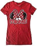 Disney Minnie Mouse Junior's Family T-Shirt - Medium