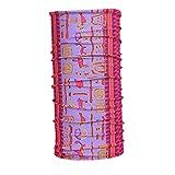 PRETYZOOM - Manguito para el cuello resistente al viento, bufanda mágica, cinta para la frente, protección facial para deportes al aire libre (impresión de rosa)