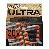Nerf Pack de 20 dardos para lanzadores Ultra (Hasbro E6600EU6)