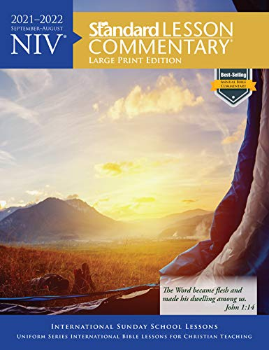 Compare Textbook Prices for NIV® Standard Lesson Commentary® Large Print Edition 2021-2022  ISBN 9780830782109 by Standard Publishing