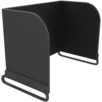 Hooshion Remote Controller Phone Monitor Sun hood Sunshade Cover Hood Smartphone Tablet iPad Sun Shade for DJI MAVIC PRO Mavic Air Inspire/PHANTOM 3 4 M600 OSMO Accessories (< 111mm, Black)