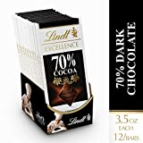 Lindt Excellence 70 Percent Cocoa Dark Chocolate Bar