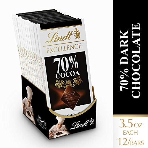 Lindt Excellence 70 Cocoa Dark Chocolate