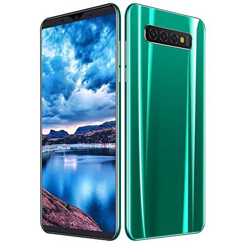 5,72-inch HD-smartphone met groot scherm, dubbele standby-kaart voor 3G-mobiele telefoons, 512 MB + 4 GB mobiele telefoon ondersteunt MP3 / MP4 / 3GP / FM-radio / Bluetooth, 4000 mAh voor Android OS 5.1. Groen (EU)
