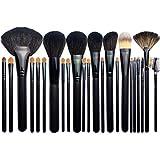 YZZ Conjuntos de cepillos de Maquillaje Profesional de 24pcs, Pinceles de Maquillaje Especial para Maquillaje, Conjunto Completo de Pinceles de Maquillaje, Cabello súper Suave de visón