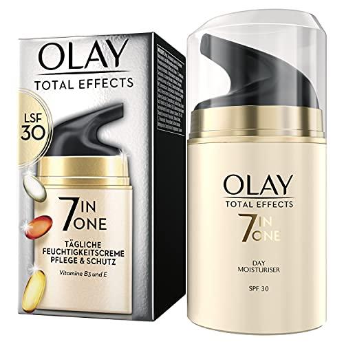 OLAY Total Effects 7-in-1 Tägliche Feuchtigkeitscreme Mit LSF 30 | 50ml | für Pflege & Schutz der...