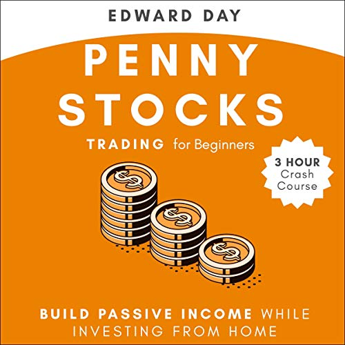 Penny Stocks Trading for Beginners Audiobook By Edward Day cover art
