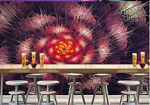 Papel Pintado 3D Decoración Murales Pared De Fondo Colorida Barra Ktv 3-250Cmx175Cm