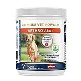 V-POINT ARTHRO, acuto per cani in caso di dolori articolari, artrosi acuti dolorosi, polvere di erbe aromatiche con artiglio del diavolo, zenzero, manzo di salice (250 g)