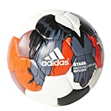 Adidas Stabil Ballon de Handball Tribe Replique 3 Blanc - White/Solar Red/Onix/Black