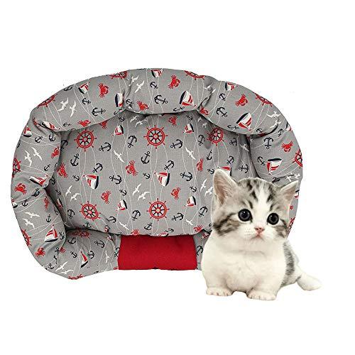 LKIHAH huisdierbed, hondenbed, warming Pet bedden - zachte wol fleece PP Cotton Made in A-huisdierbed, geschikt voor kleine medium honden of katten