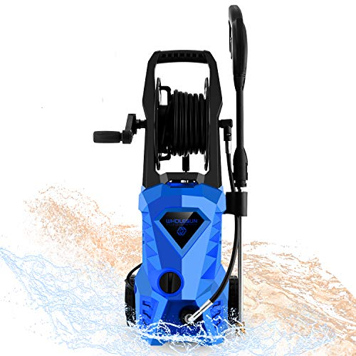 WHOLESUN 3000PSI Pressure Washer Electric 1.8GPM 1600W High...
