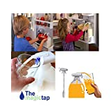 Magic Tap-Household Convenient Electric Automatic Water Drink Beverage Dispenser Spill Proof for Milk Juice