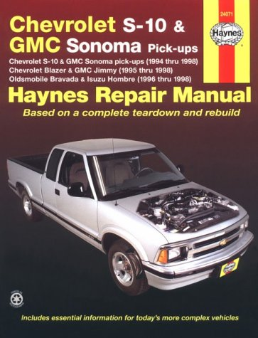 Haynes Chevrolet S-10 and GMC Sonoma Pickups: 1994 Thru 1998