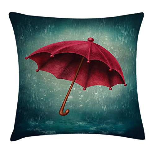 JIMSTRES Sexy Fatal Biting Lips Multi-Code Polyester Square Zipper Decorative Throw Pillow Case Waist Cushion Cover Pillowcase - for Bedroom Decor Living Room Sofa Bed Chair Car 16 X 16 inches