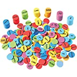 Learning Resources Place Value Disks, Early Math Skills, Set of 280 Pieces, Ages 6+