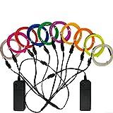 Best El Wires - TGHCP-10x3FT Neon Glowing EL Wire Kits(10 Colors) Review