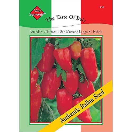 Thompson & Morgan, den Geschmack der Italien Gemuse Tomate IL San Marzano Lungo Da Insalata 300 Samen