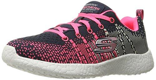 Skechers Footwear Skechers Girls Burst Ellipse Breathable Fabric Active Trainers
