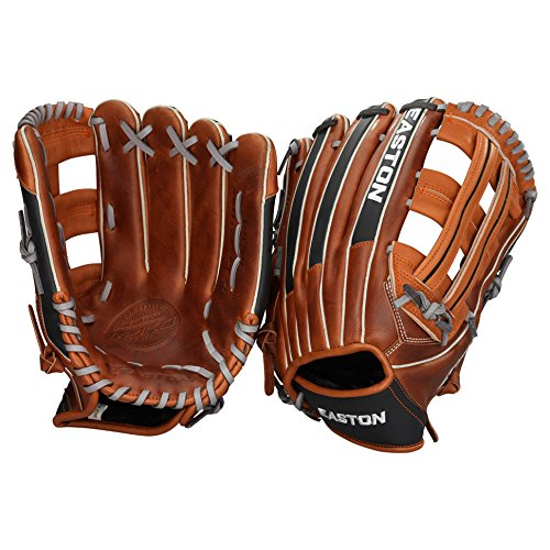 Easton Mako Pro Series EMK Outfielders Pattern Glove, 12.75-Inch, Right Hand Throw