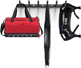 Opbergrek Voor Sport Wandrek Voor Fitnessapparatuur Verlengde En Versterkte Anti-val Meerdere Haken (Color : Black, Size :...