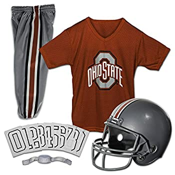 Franklin Sports NCAA Ohio State Buckeyes Kids College Football Uniform Set - Youth Uniform Set - Includes Jersey Helmet Pants - Youth Small