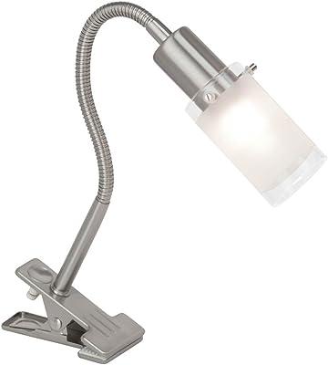 Brilliant Lámpara de pinza E14, 3 W
