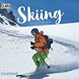 Skiing 2022 Calendar: Special gifts for all ages and genders with 18-month Mini Calendar 2022