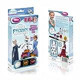Disney Frozen Olaf Kit Tatuaggi Glitterati: Tatuaggi temporanei per Bambini e Adolescenti con 12 Glitter e Stencil
