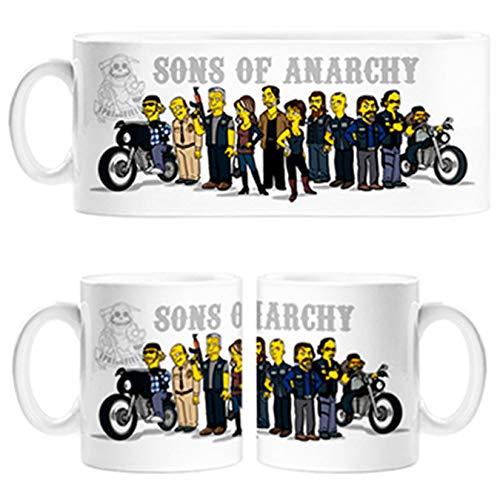 Diver Tazas Taza Sons of Anarchy versión Los Simpson - Cerámica